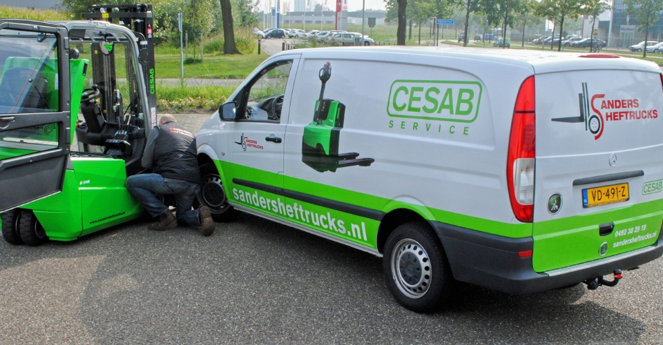 cesab after sales service